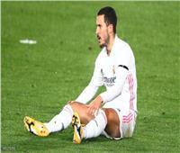 هازارد يغيب عن ريال مدريد 3 أسابيع بسبب إصابة جديدة