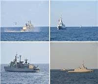 القوات البحرية المصرية واليونانية تنفذان تدريباً بحرياً عابراً ببحر إيجه