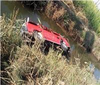إصابة 14 راكبًا في حادث انقلاب ميكروباص بالمنيا 
