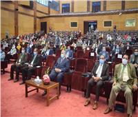 انطلاق فعاليات المؤتمر البحثي الأول بجامعة سوهاج عن كورونا