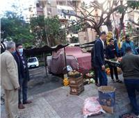 حملة مكبرة لإزالة المخالفات بشوارع حي شرق الإسكندرية