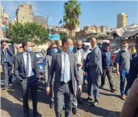 وفد فرنسي يتفقد سوق الجملة بالحضرة ويلتقى بأعضاء «غرفة الإسكندرية»