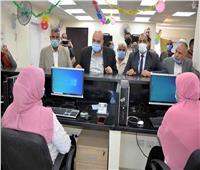 افتتاح مركز لتقديم الخدمات التموينية المطورة بالأقصر