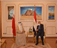 وزير الخارجية يبحث مع نظيره البحرينى عددا منالملفات الإقليمية والدولية