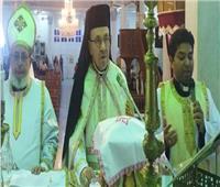 المدبر البطريركي لإيبارشية سوهاج يترأس قداس عيد يسوع الملك