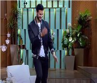 محمد الشناوي يقلد رقصة سعد سمير.. «فيديو»