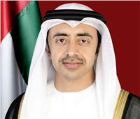 وزير خارجية الإمارات يبحث مع نظيره السويسري التعاون المشترك