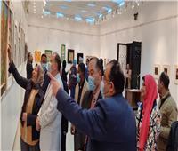 قصر ثقافة أسيوط يحتضن معرض «فنانات من صعيد مصر»