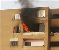 رجال الحماية المدنية يسيطرون على حريق بشقة سكنية بالغربية