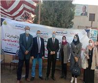 جامعة بنها تواصل إطلاق القوافل الطبية والزراعية بقرية كفر العرب