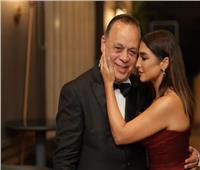روجينا تحتفل بتكريم زوجها أشرف زكي على «إنستجرام»