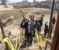 محافظ الجيزة يتابع ميدانيا تنفيذ محطات مياه الشرب بأوسيم ومنشأة القناطر