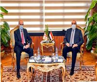 وزير الطيران يلتقي سفير دولة جورجيا لبحث تعزيز الاتفاقية الجوية