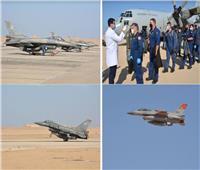 شاهد| 4 دول تشارك مصر بالتدريب على أعمال القتال البحرية والجوية بـ«ميدوزا ١٠»