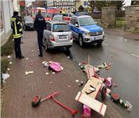 فيديو  لحظة القبض على سائق سيارة قام بحادث الدهس في ترير الألمانية