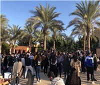 تفاصيل مظاهرة طلاب الجامعة الأمريكية |صور