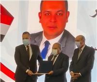 تكريم المستشار سالم صقر عضو مجلس إدارة نادي قضاة مجلس الدولة