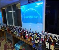 «التهرب الجمركي بالقاهرة» تضبط مشروبات كحولية