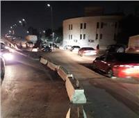تحويلات مرورية بمدخل دار السلام لأعمال توسعة دائري المعادي.. صور