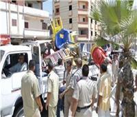 شرطة المرافق تضبط 967 مخالفة متنوعة بالجيزة