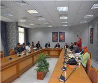 جامعة حلوان تستقبل ممثلى التضامن لاستكمال تطوير المناطق الأكثر احتياجًا