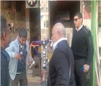 لمواجهة كورونا.. ضبط 176 «شيشة» في حملة على مقاهي نجع حمادي