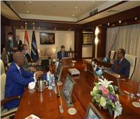 الفريق أسامة ربيع يلتقي سفير جيبوتي لبحث سبل تعزيز التعاون المشترك
