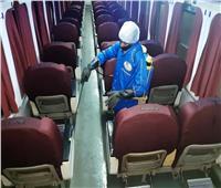 «السكك الحديدية» تشدد على ارتداء الكمامات تزامنا مع تعقيم القطارات.. صور