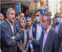 محافظ الإسكندرية يتفقد مشروع الصرف الصحي بالفلكي بتكلفة ٤٨ مليون جنيه
