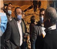 محافظ الإسكندرية: أسرتان تحت أنقاض عقار محرم بك |صور