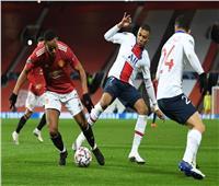 فيديو| التعادل يحسم الشوط الأول بين مانشستر يونايتد وسان جيرمان