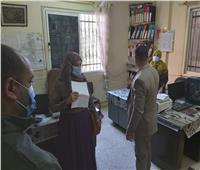 لجنة لمتابعة تطبيق الإجراءات الاحترازية بالمصالح الحكومية في بني سويف