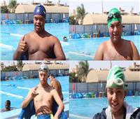حكايات| «ابتسم للحياة».. شعار سباحة ذوي الاحتياجات الخاصة