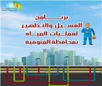 رسالة مهمة من شركة «مياه المنوفية» إلى المواطنين