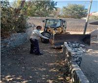 رفع القمامة والمخلفات الصلبة بالبداري في أسيوط