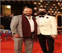 صور | محمد عبد الرحمن وأحمد حلمي على السجادة الحمراء بمهرجان القاهرة السينمائي