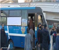 نقل سكان المطرية مجانًا لموقف مسطرد الجديد
