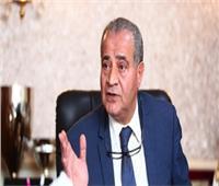 وزير التموين: السعات التخزينية للقمح تصل إلى 3.4 مليون طن