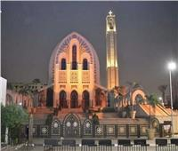 «الكاتدرائية المرقسية بالأنبا» تدعم «العنف ضد المرأة» باللون البرتقالي