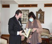 سفير أذربيجان يشيد بإنجازات مصر الفكرية والإبداعية