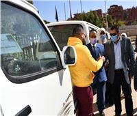 محافظ أسوان : دفعة جديدة من مشروع إحلال سيارات السيرفيس