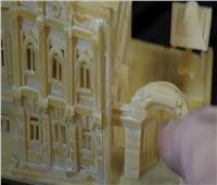 روسي يستخدم المكرونة في تصميم مجسمات متحركة معقدة الصنع| فيديو