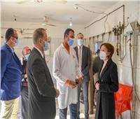 نائب محافظ الإسكندرية في زيارة مفاجئة لمستشفى العامرية العام