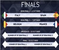 إسبانيا تصطدم بإيطاليا في دوري الأمم الأوروبية