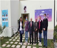 مدير مكتبة الإسكندرية يتفقد قصر «الأميرة خديجة» بحلوان