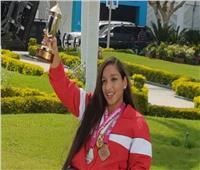 بطلة السباحة البارالمبية عن تكريمها من الرئيس: «مكنتش مصدقة نفسي»