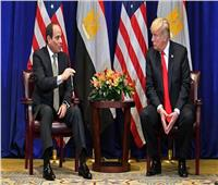 ترامب يتصل بالسيسيلمناقشة المشروعات المشتركة والقضايا الإقليمية