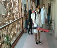 لجنة الإجراءات الاحترازية لكورونا تتفقد «تجارة الإسكندرية»
