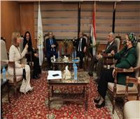 مايا مرسي: المرأة المصرية رسخت أقدامها بقوة في مجال القضاء