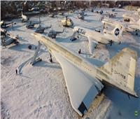 تصوير جوي لمقبرة طائرات بمدينة سمارا الروسية.. فيديو